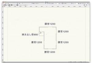 2F窓配置図