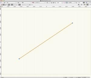 直線の作成