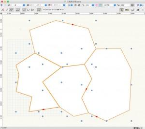元の多角形