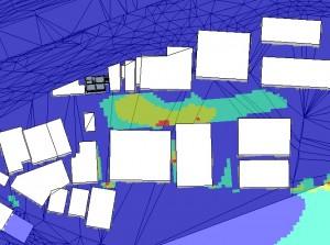 風評価ランク機能での解析結果