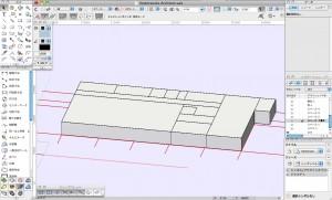 スペースモデルの作成2