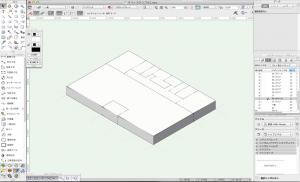 スペースを3D表示