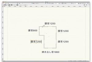 1F窓配置図