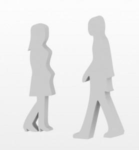 人物の3Dモデル